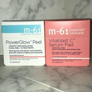 M61 Power Glow and Vitamin C 10pk Individual Peels